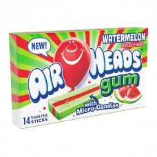 Airheads gum watermelon sugar free 3 x 34 gr - Gomme all'anguria