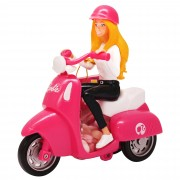 Barbie Scooter con caramelle 10 gr