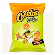 Cheetos Rock Paw Scissors Hamburger 85 gr Frito Lay - Snack di mais