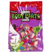 Body Parts Gummy Candy 450 gr caramelle morbide gommose
