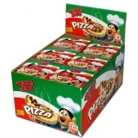 Gummi Zone pizza slices 48 x 15 gr - caramelle a forma di pizza