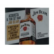 Set Bar Jim Beam Kentucky Straight Bourbon Whiskey
