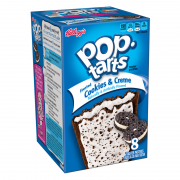 Kellogg's Pop Tarts frosted cookies & creme 400 gr