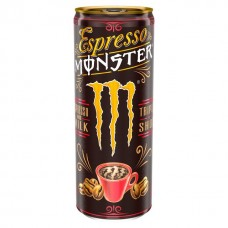 Monster Espresso and Milk Triple Shot Energy Drink 250 ml