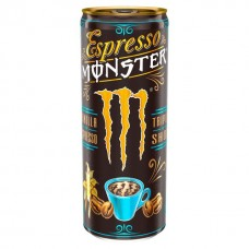 Monster Espresso Vanilla and Milk Triple Shot Energy Drink 250 ml