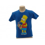 T-Shirt The Simpsons Bart Slurp Originale Ufficiale - Taglia 12-13 anni