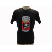 T-Shirt The Simpsons Lattina Birra Duff Originale Ufficiale - Taglia L