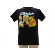 T-Shirt The Simpsons Homer & Barney Originale Ufficiale